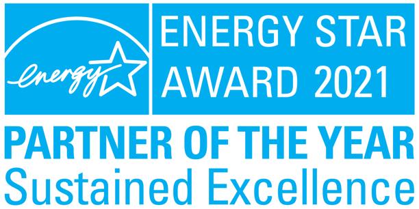 Providence Homes 2021 ENERGY STAR Partner of the Year