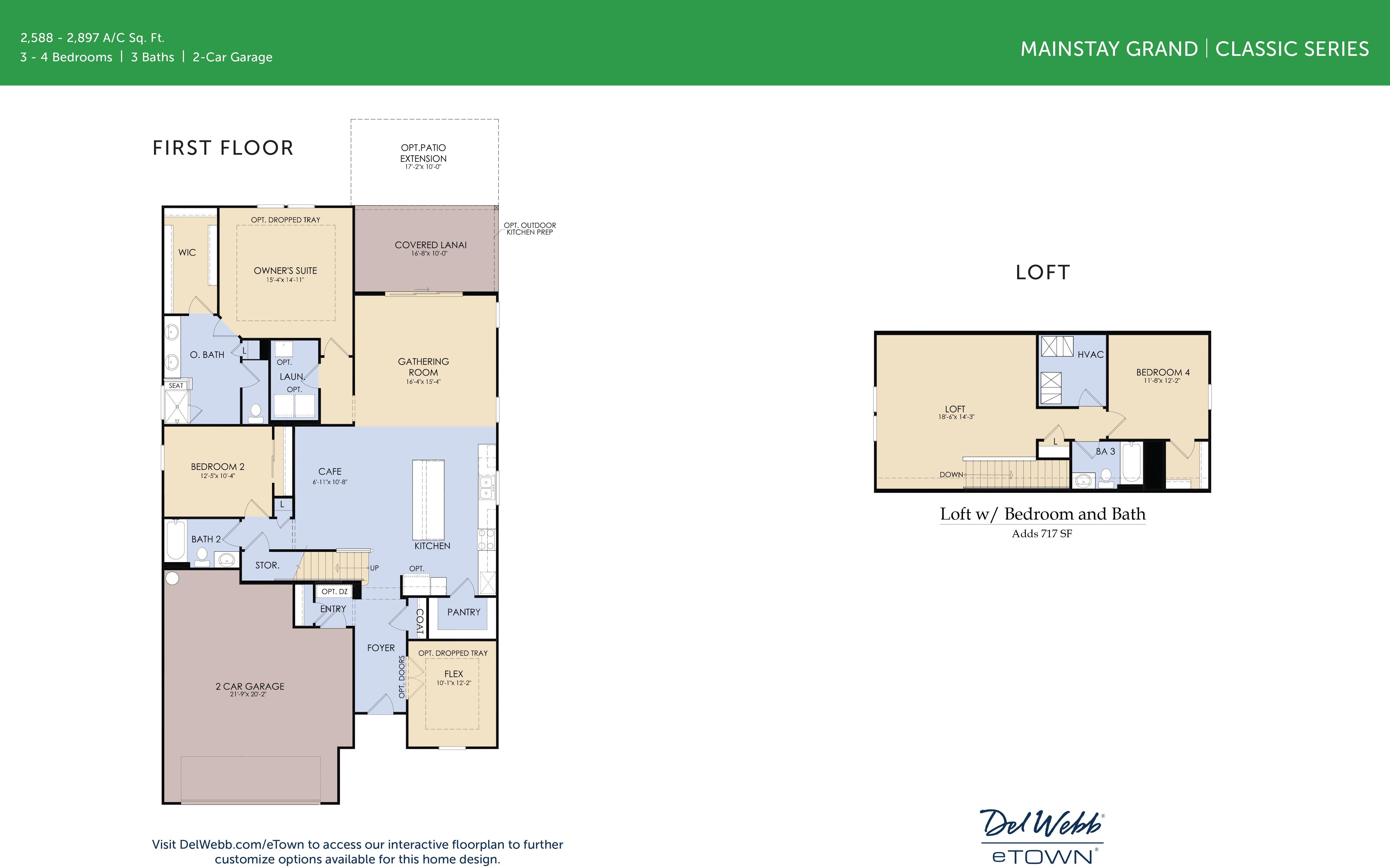 DWeTown Mainstay Grand-floorplan