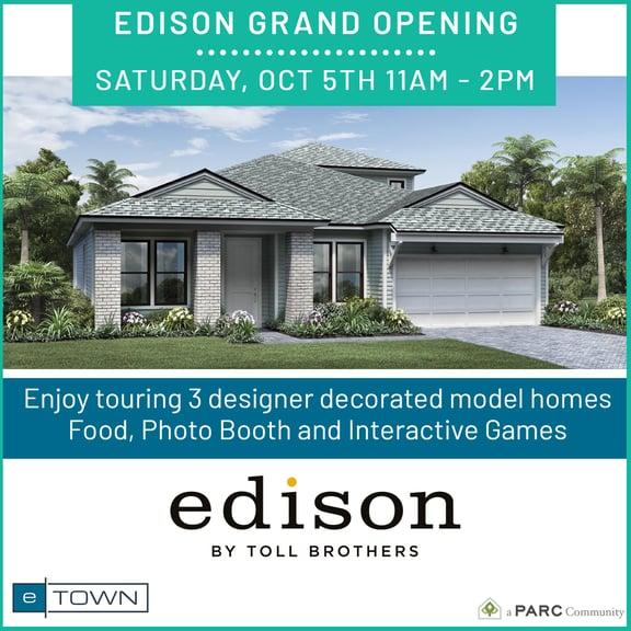 Edison Grand Opening