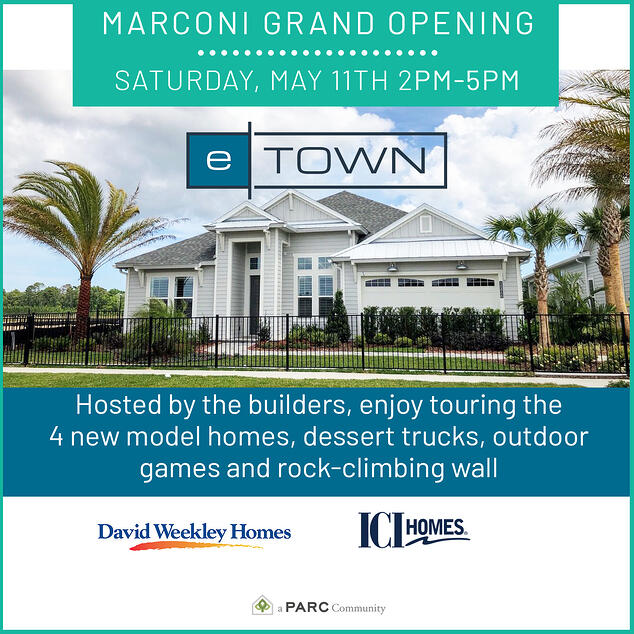 Marconi at eTown Grand Opening on May 11th