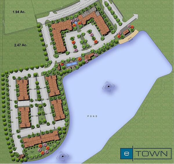 Apartments at eTown Map