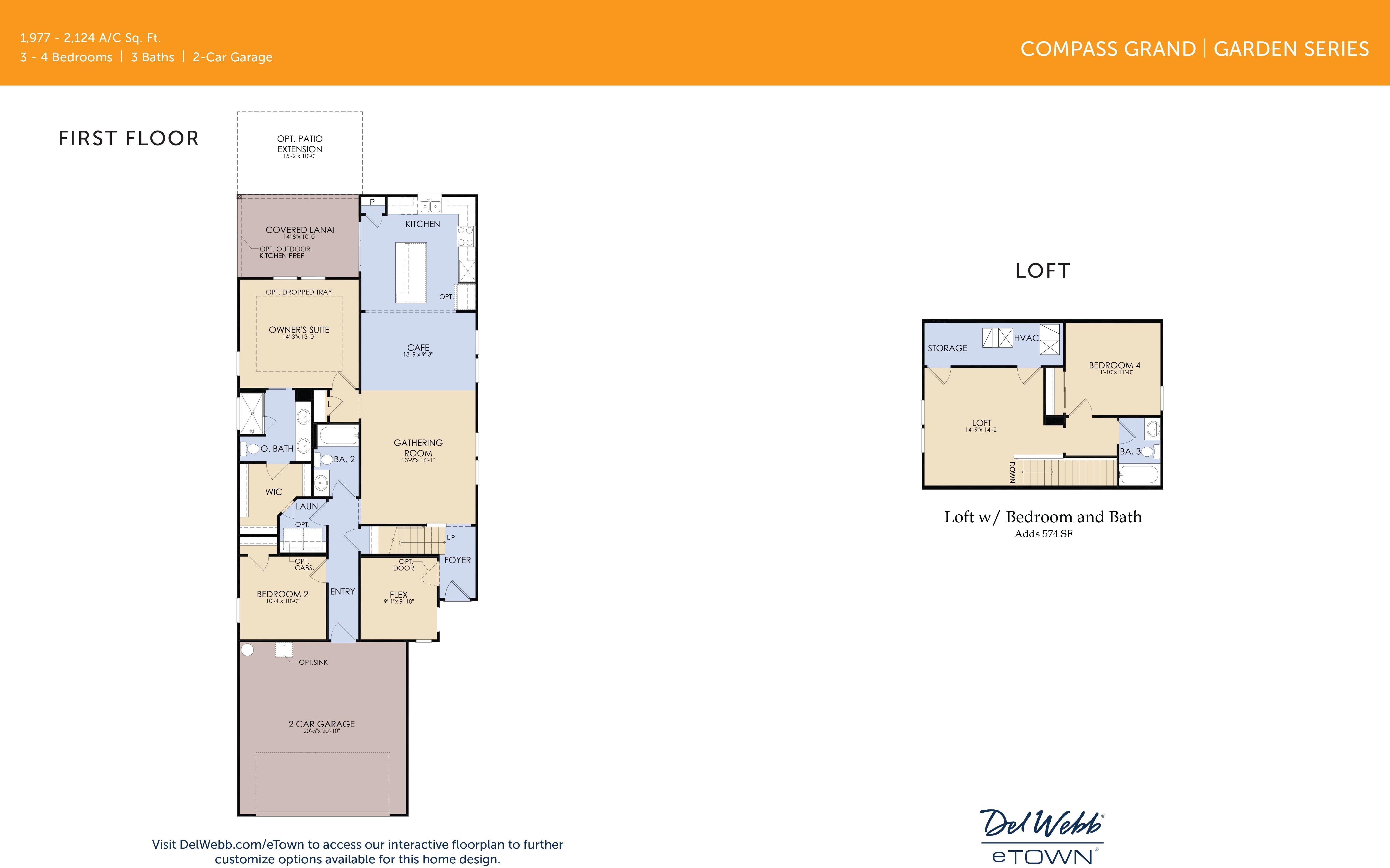 DWeTown Compass Grand floorplan