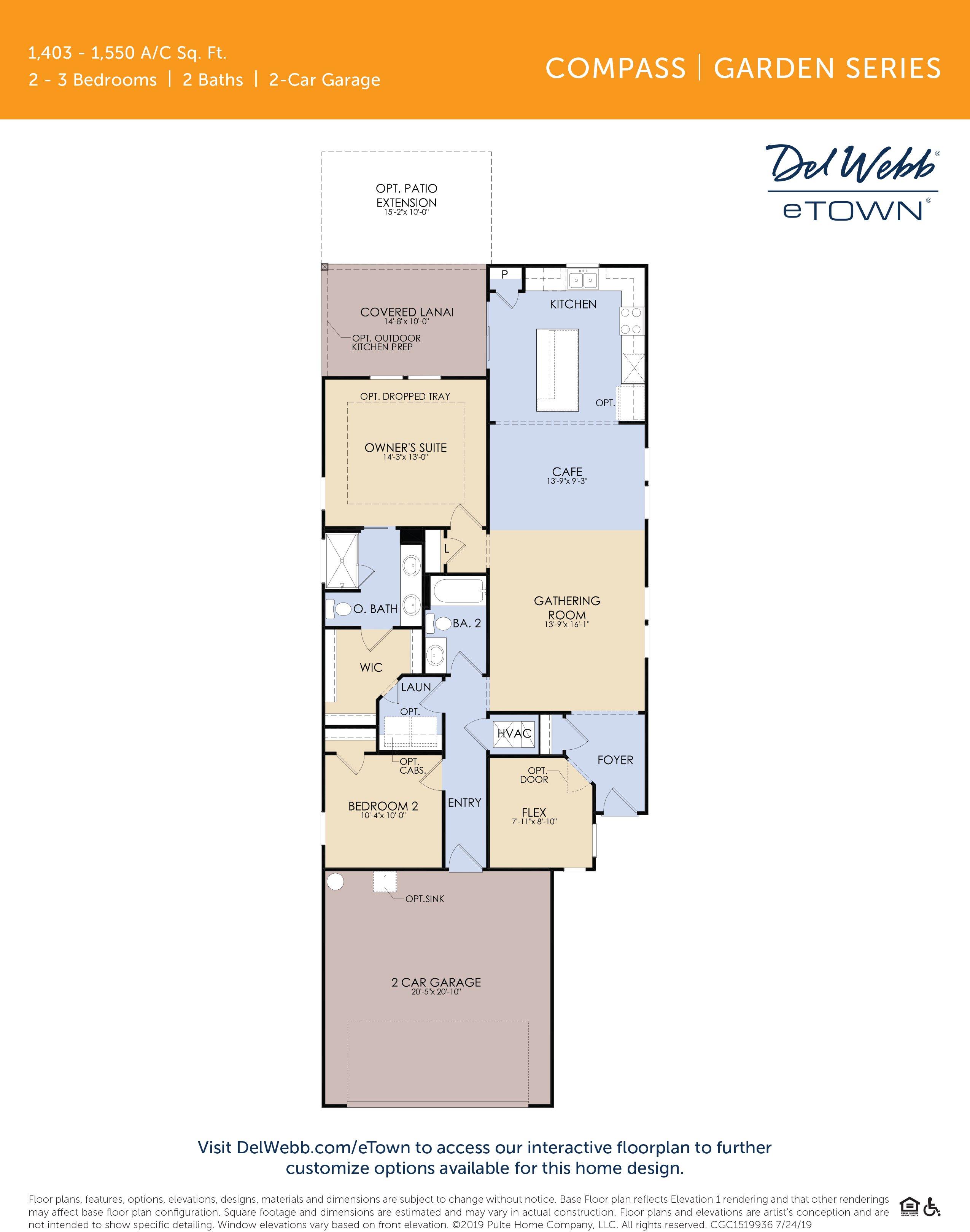 DWeTown Compass-floorplan