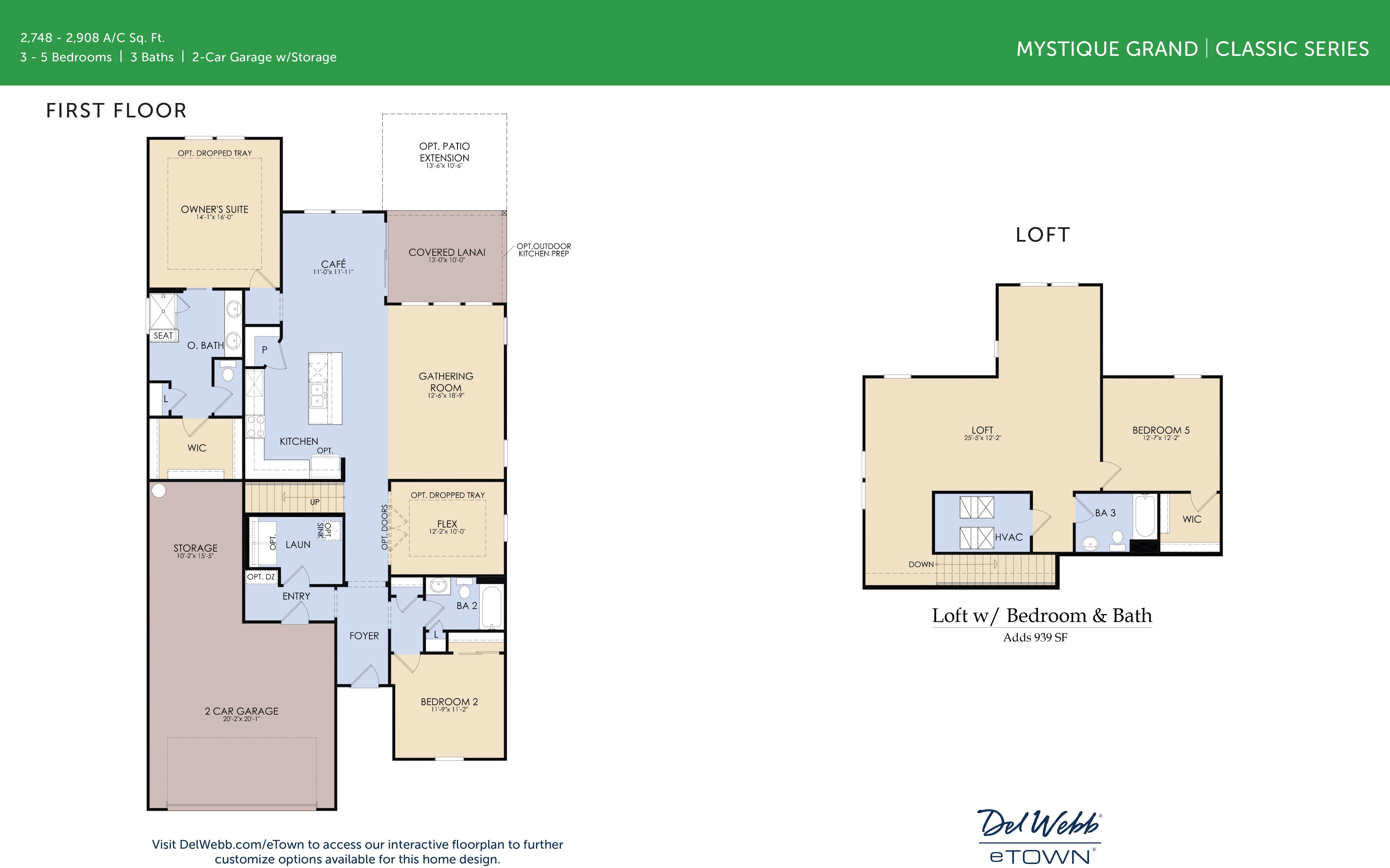 DWeTown Mystique Grand -floorplan