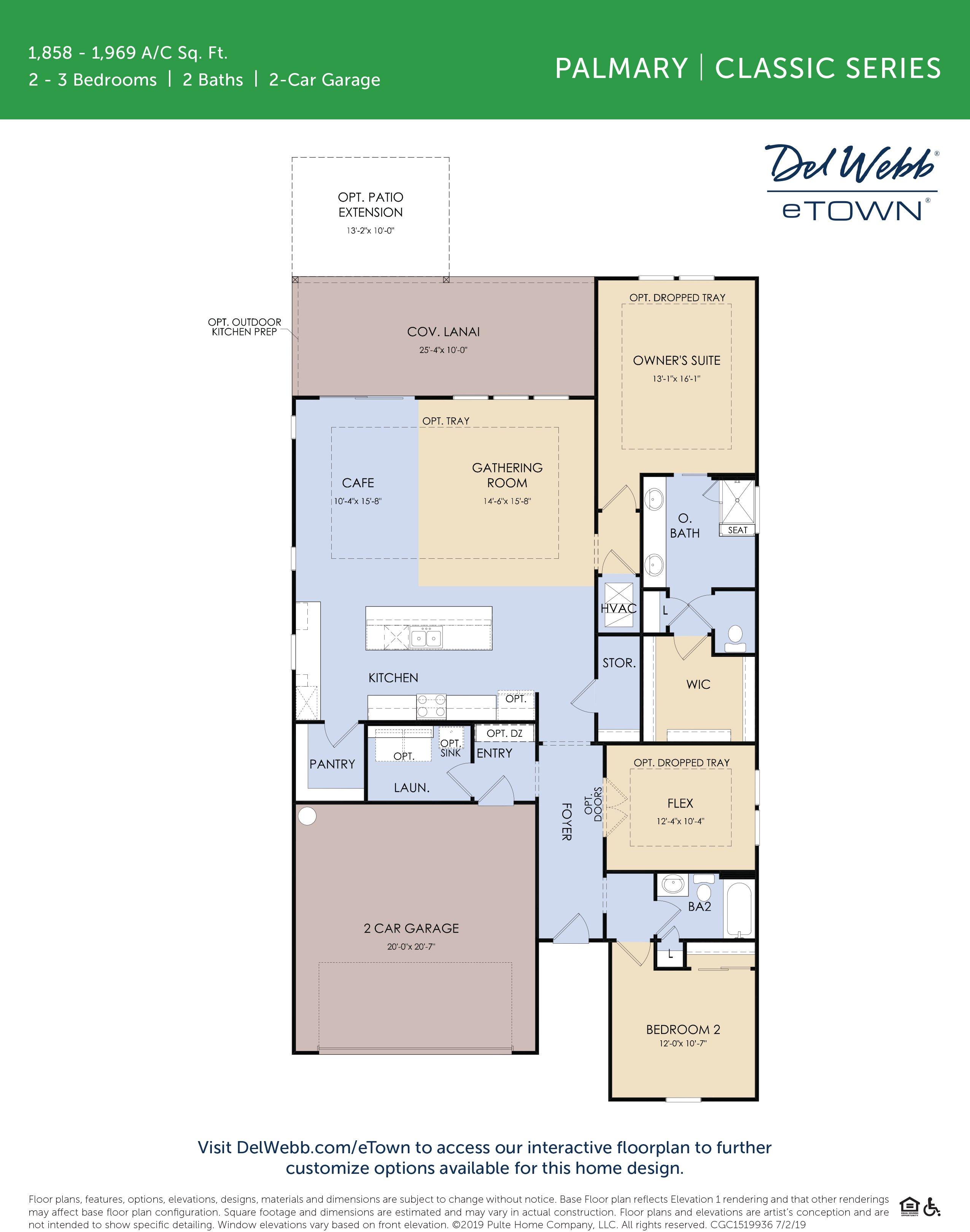 DWeTown Palmary -floorplan