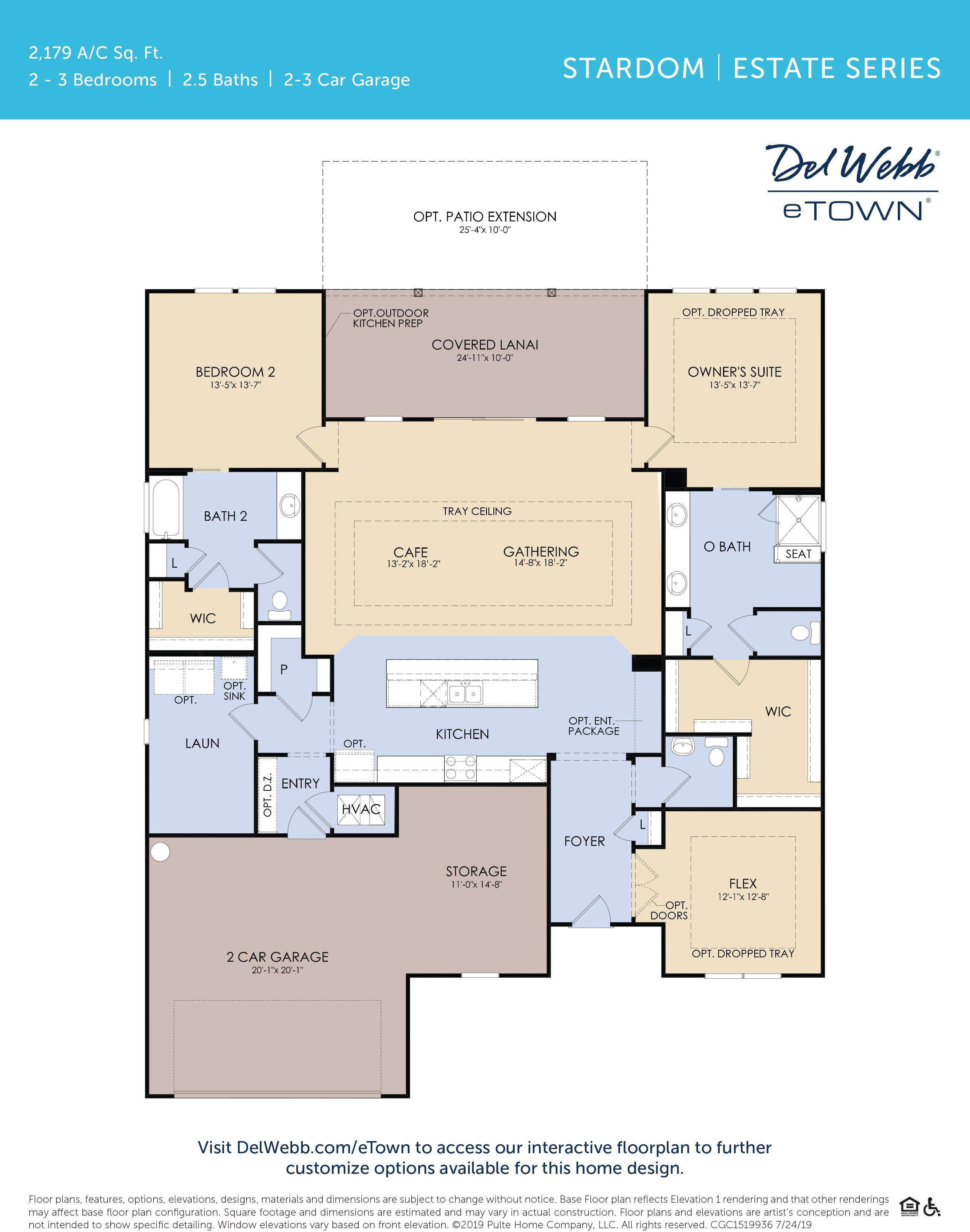 DWeTown Stardom-floorplan