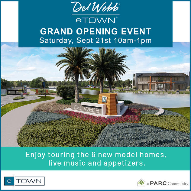 Del Webb eTown Grand Opening