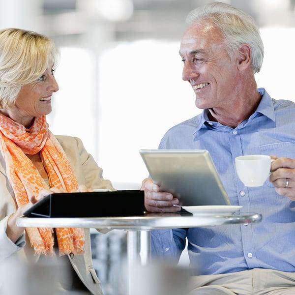 square-older-couple