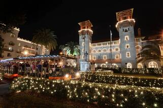 St. Augustine's Night of Lights Trolley Ride