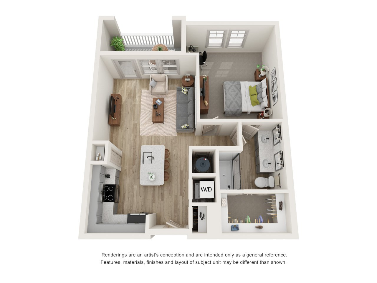 The Bell Floor Plan_The Menlo_A4